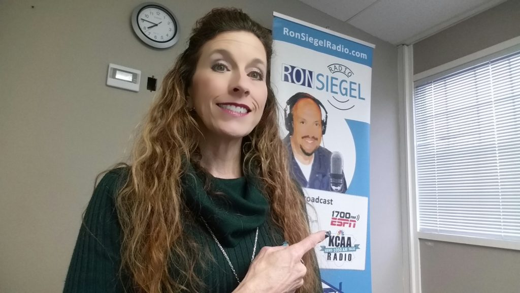Debbra Sweet guest on Ron Siegel Radio ESPN3-15-19